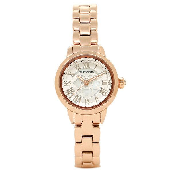 【期間限定ポイント10倍】ジュリエッタヴェローナ 腕時計 GIULIETTAVERONA GV003PSI シルバー ピンクゴールド