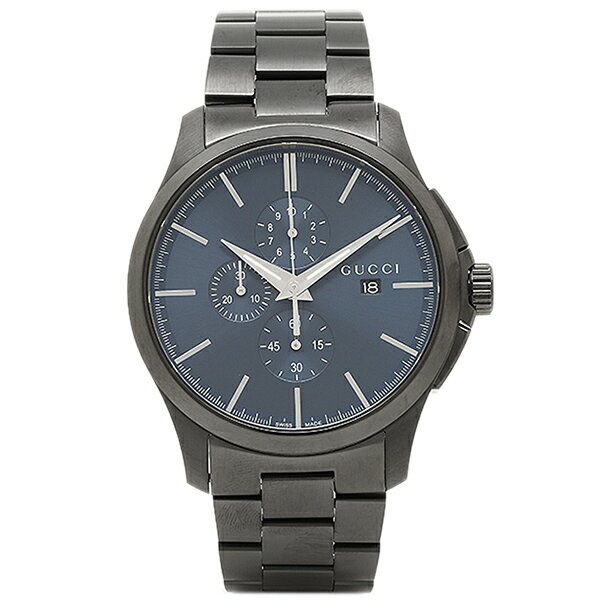 【期間限定ポイント10倍】グッチ 腕時計 GUCCI YA126275 ブルー ブラック