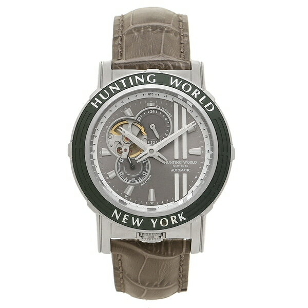 【期間限定ポイント10倍】HUNTING WORLD 腕時計 ハンティングワールド HW993GY グレー