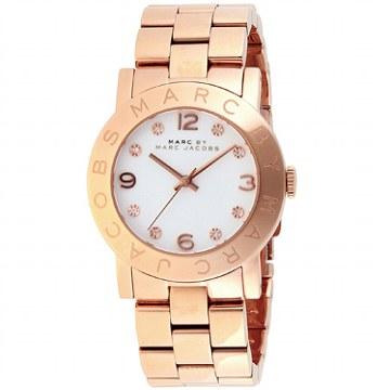 MARC by MARC JACOBS 腕時計 MBM3077 ピンクゴールド ホワイトマークバイマークジェイコブス●【新品・未使用・正規品】