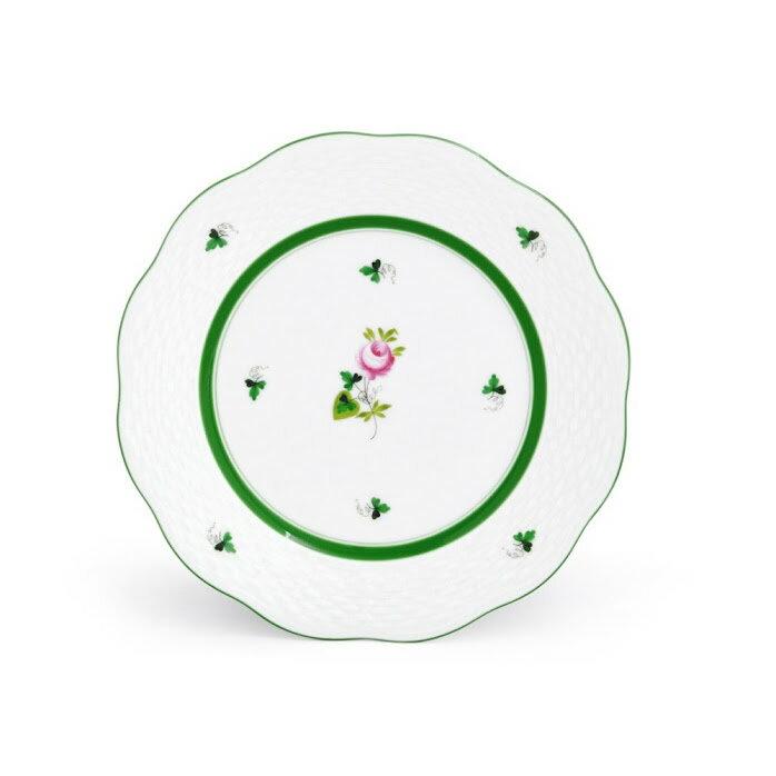 ヘレンド HEREND VRH 00517000 ウイーンの薔薇 デザートプレート 皿 19cm VIEILLE ROSE D'HABSBOURG【r】【新品/未使用/正規品】