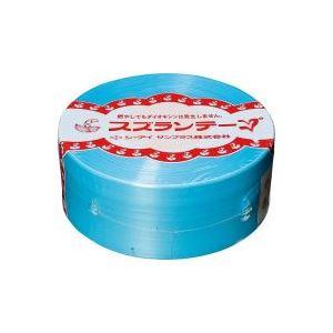 【ポイント10倍】(業務用100セット) CIサンプラス スズランテープ/荷造りひも 【空色/470m】 24203104