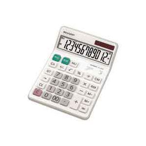 【ポイント10倍】(業務用30セット) シャープ SHARP 電卓 12桁 EL-S452X