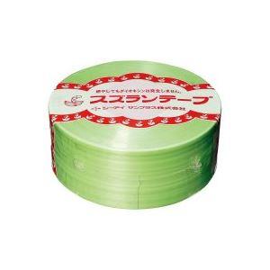 【ポイント10倍】(業務用100セット) CIサンプラス スズランテープ/荷造りひも 【若草/470m】 24203105