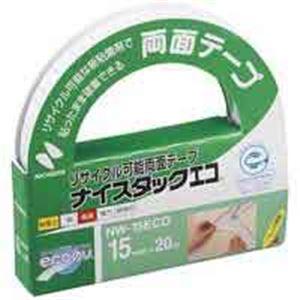 【ポイント10倍】(業務用100セット) ニチバン ナイスタックエコ NW-15ECO 15mm×20m