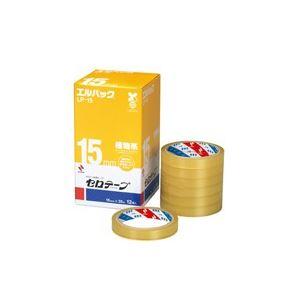 【ポイント10倍】(業務用20セット) ニチバン セロテープ Lパック LP-15 15mm×35m 12巻 ×20セット