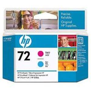 【ポイント10倍】(業務用2セット) HP プリントヘッドHP72マゼンタ/シアン