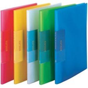 【ポイント10倍】(業務用100セット) ビュートン 薄型クリアファイル/ポケットファイル 【A4】 20ポケット FCB-A4-20C 透明