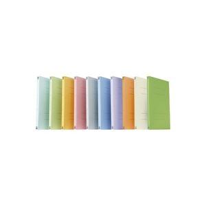 【ポイント10倍】(業務用20セット) プラス フラットファイル/紙バインダー 【A4/2穴 30冊】 021N リーフグリーン