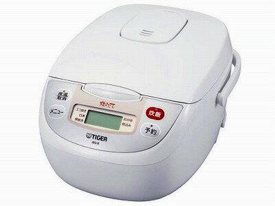 TIGER マイコン炊飯ジャー <炊���> (5.5�炊�) アー�ンホワイト JBG-B100-WU