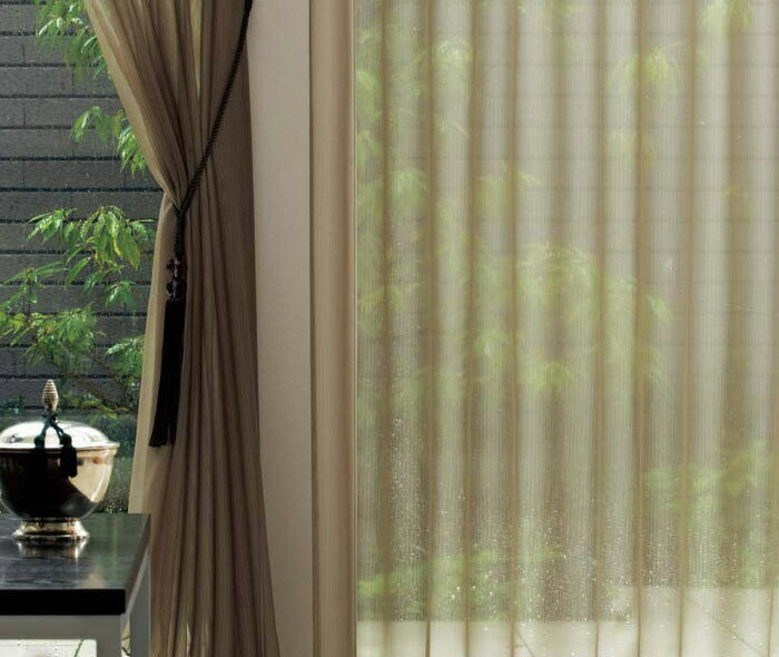 【送料無料】オーダーカーテン▼スタンダードオーダー 2倍ヒダ・下部ウエイトテープ付 ヨコ使い プルミエ▼川島織物セルコン Premier DESIGN LACE PY1484F~1486F