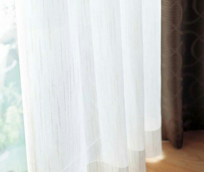【送料無料】オーダーカーテン▼ファインウィーブ 2倍ヒダ・下部3ッ巻 プルミエ▼川島織物セルコン Premier DESIGN LACE タテ使いレース PL1532B~1533B
