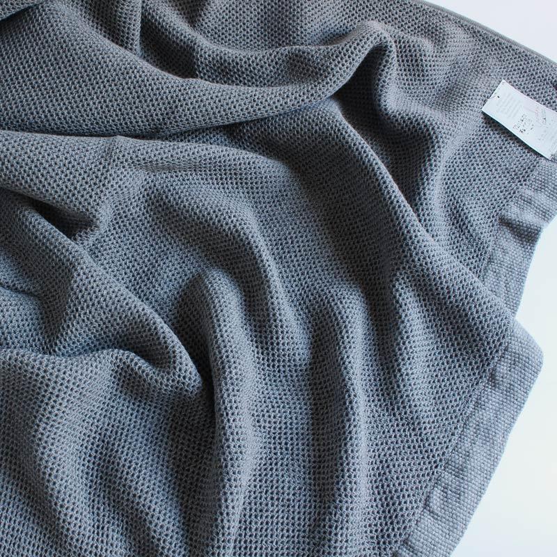今治タオル コンテックス スロー&ブランケットImabari Towel Kontex  Throw & Blanketヴィンテージワッフル グレー