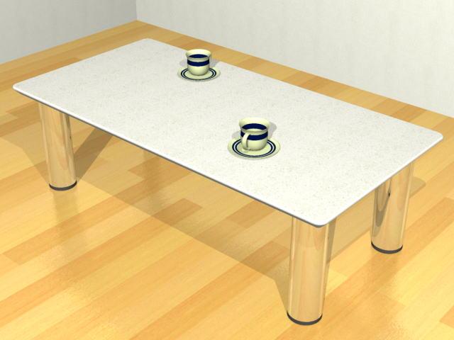 【人工大理石テーブル】LIV2