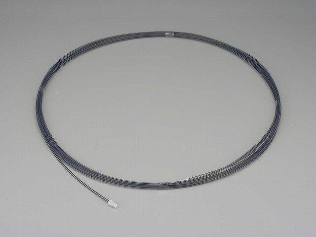エスコ ESCO  6.0/8.0mmx10m フッ素樹脂チューブ(導電性) EA125FE-8 [I161106]