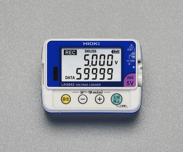 エスコ ESCO  電圧データロガー EA742HD-3 [I110210]
