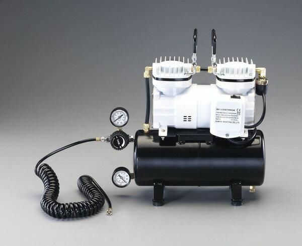 エスコ ESCO  AC100V/125W エアーコンプレッサー(タンク 3.5L) EA116ST [I160101]