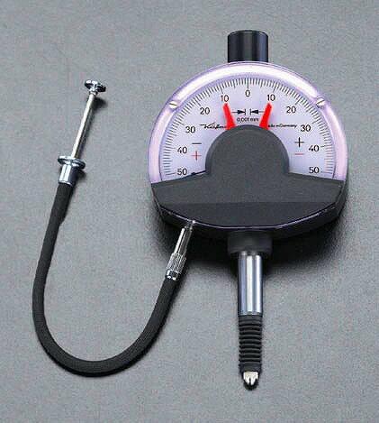エスコ ESCO  0.1mm/0.001 ダイアルコンパレーター EA725LG-6 [I110926]