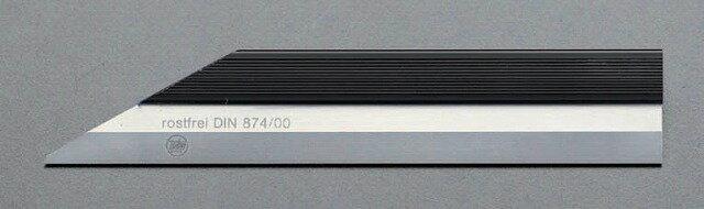 エスコ ESCO  400mm ナイフ形ストレートエッジ(INOX) EA720YH-78 [I110902]