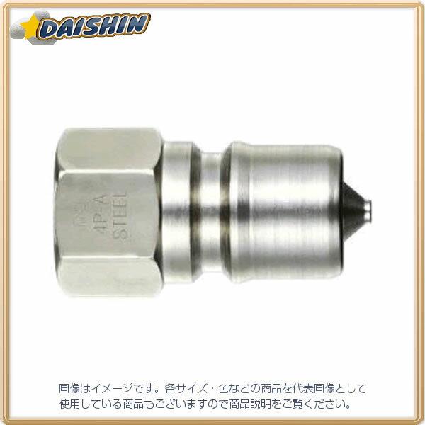 日東工器 NITTO  SPAカプラ(プラグ・おねじ取付け) (12P-A FKM STEEL) 12P-A FKM STEEL [A092302]