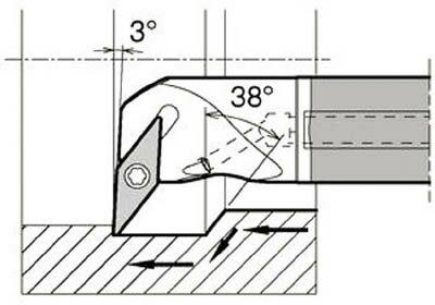 京セラ KYOCERA  内径加工用ホルダ E12Q-SVPBR11-18A [A080115]