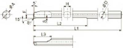 京セラ KYOCERA  旋削用チップ ダイヤモンド KPD001 PSBR0606-70NBS [A080115]