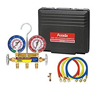 アサダ  ES651 マニホールドセットR32・R410 ES651 [A011221]