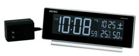 目覚まし時計 メンズ レディース 時計 セイコー 電波交流式 デジタル 目ざまし時計 DL207S