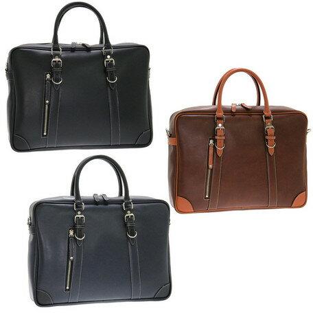 只今、全品ポイント2倍 ブリーフケース メンズ バッグ Kiwada パトリック 二本手 ビジネスバッグ 本革付属 豊岡市製 日本製 鞄