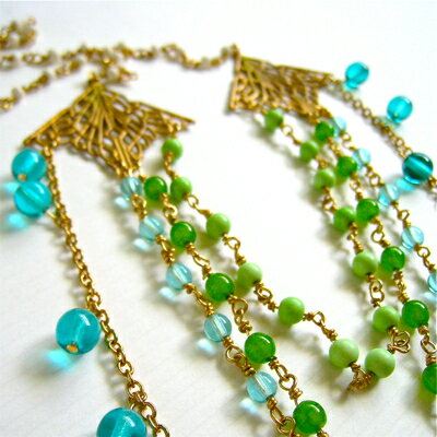 【en route/アン・ルート】 new/ Istanbul Necklace