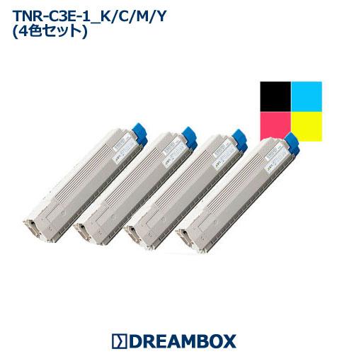 TNR-C3E トナー(4色セット) リサイクル C8600dn・C8650dn・C8800dn対応