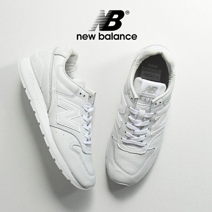 【SALE】New Balance ニューバランス MRL996EW スニーカー(ユニセックスサイズ ホワイト) ☆☆