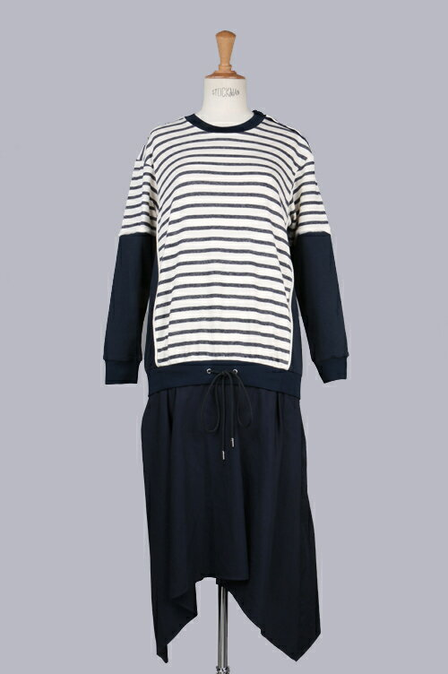 striped dress with undulating hemline(PS16-4124LTF) 3.1Phillip Lim(フィリップ・リム)