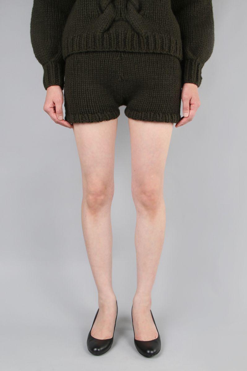 【50%OFF!!】 Hand-kintting Knit Pants(EOS7626) LI HUA(リー・ファー)
