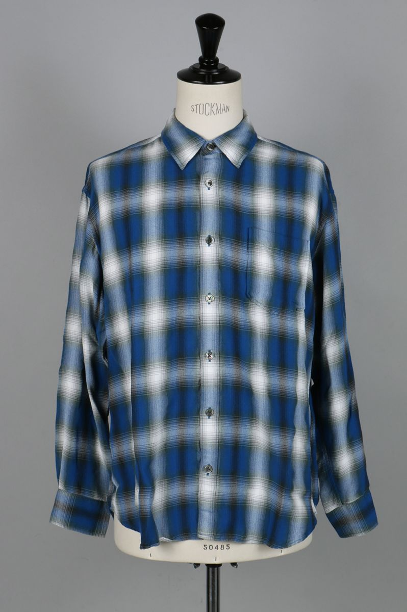 OMBRE CHECK SHIRTS (17-7101) Rags McGREGOR(ラグス・マックレガー)