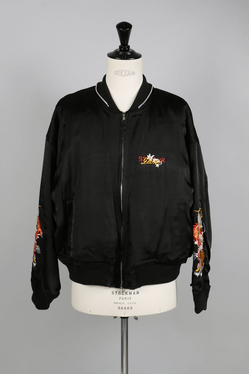 CHAOS EMBROIDERY SOUVENIR JACKET (17AW04BL42) doublet(ダブレット)