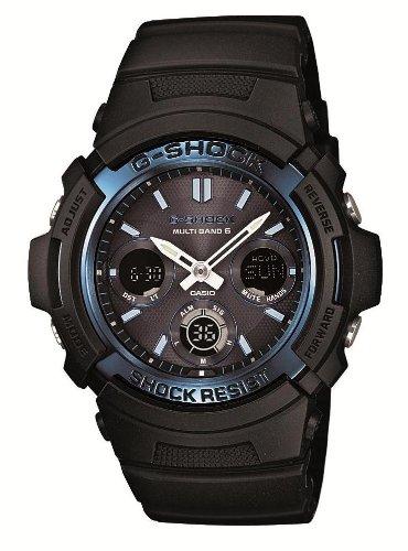 (正規品)(お取り寄せ商品)CASIO 腕時計 G-SHOCK ジーショック タフソーラー 電波時計 MULTIBAND 6 AWG-M100A-1AJF メンズ