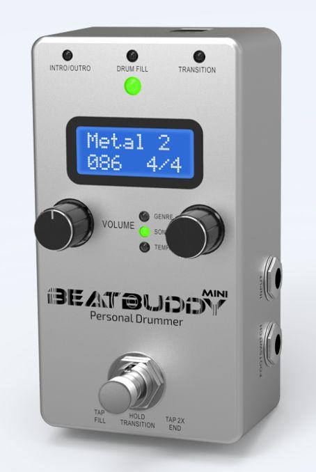(お取り寄せ)Singular Sound BeatBuddy Mini シングラーサウンド ペダル型ドラムマシン ビートバディー・ミニ(正規品)