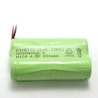 【PC限定 エントリーでポイント10倍!】4KR-600AE 相当品 SANYO製相当品 組電池製作バッテリー 三菱化学 MCP-T360 等用 4.8V600mAh