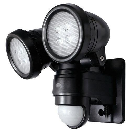 【最大500円OFFクーポン発行中!】DSLD10B2 デルカテック 明るく 省エネ!全光束900lm 2灯型LEDセンサーライト