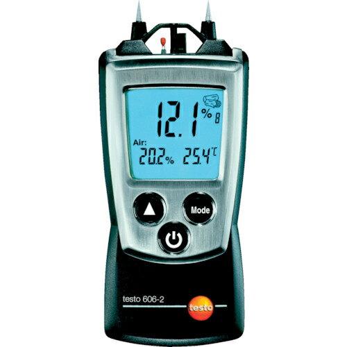 テストー テストー �ケットライン�料水分計 TESTO606-2 温湿度計測機能付 TESTO-606-2