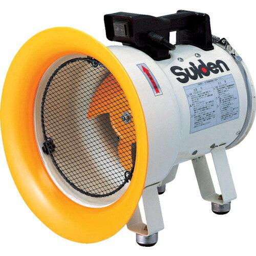 スイデン スイデン 送風機(軸流ファン)ハネ200mm単相100V低騒音省エネ SJF-200L-1 SJF-200L-1