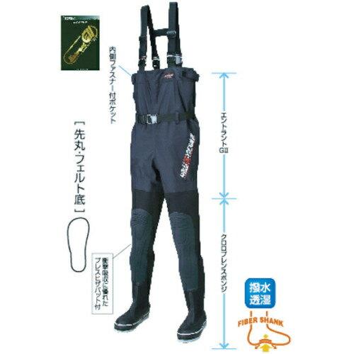 阪神素地 ハンシン FX-543 透湿スリムウェーダー 先丸 28.0 X体 FX54328.0X 4518208203827