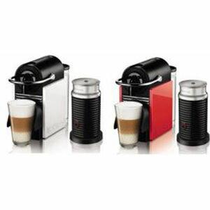 ネスレ Nespresso PIXIE CLIPS バンドルセット D60WRA3B [ホワイト&コーラルレッド] D60WRA3B【納期目安:約10営業日】