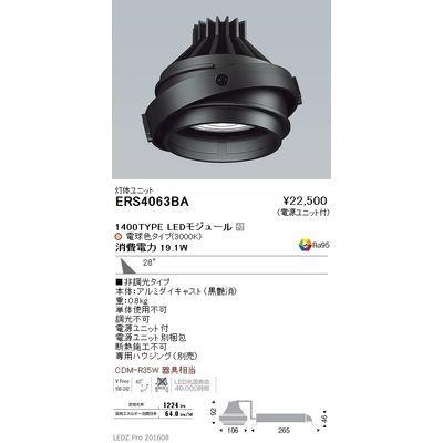 【代引手数料無料】遠藤照明 LEDZ MOVING GYRO SYSTEM ムービングジャイロシステム ERS4063BA