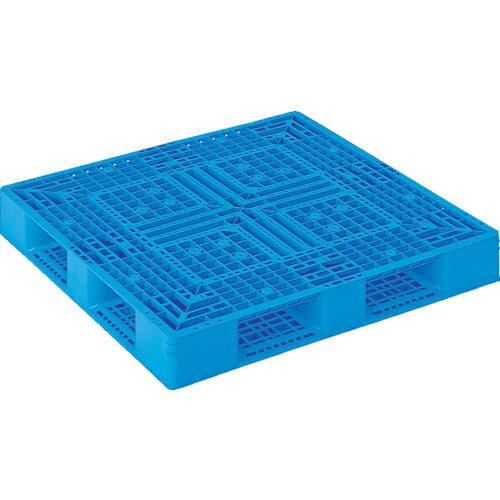 三甲 サンコー プラスチックパレット 1200X1200X150 青 SK-D4-1212-2-BL