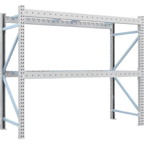 トラスコ中山 TRUSCO 重量パレット棚1トン2300×900×H2000単体 2段 1D-20B23-09-2