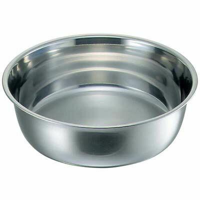 その他 クローバー 18-8 料理桶(洗い桶)60 EBM-7421400【納期目安:追って連絡】
