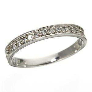 その他 0.2ct ダイヤリング 指輪 エタニティリング 9号 ds-789309