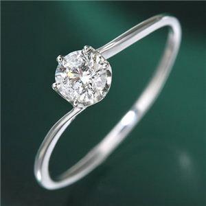 その他 プラチナ0.3ct ダイヤリング 指輪 15号 ds-789326